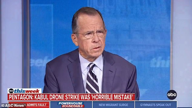 Mike Mullen, former chairman of the Joint Chiefs of Staff under the Bush and Obama administration said that the Pentagon was right in apologizing and offering reparations to the family of victims of the botched drone strike in Afghanistan