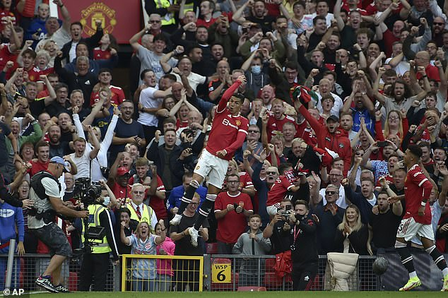 Old Trafford's corporate punters left a little short on Cristiano Ronaldo's return