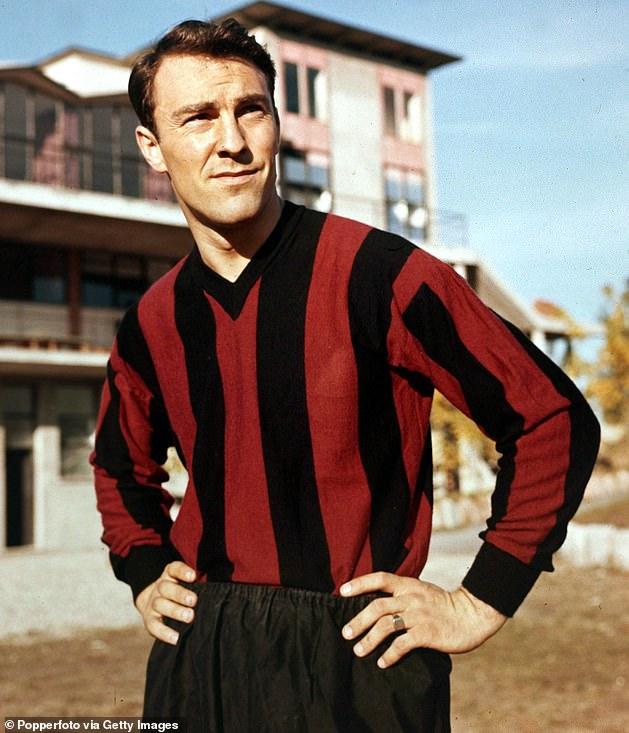 Greaves joined AC Milan for £80,000 in 1961 but returned to England just 12 months later