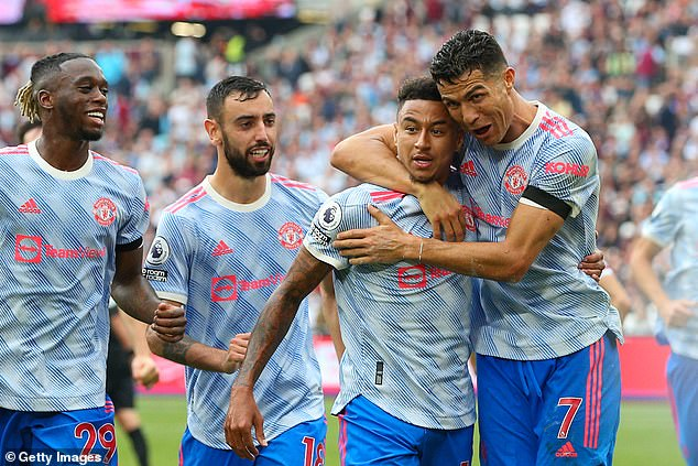 The Portugal forward scored the equalizer in a 2-1 win against West Hamu