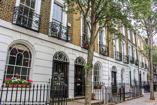 At the other end of the scale, the average home price in Islington fell by 5.7 percent to £739,033