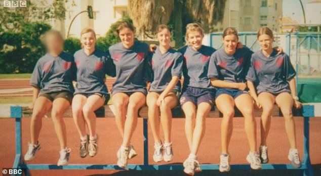 Charlie had cut off all contact with the girls from his running club in Sheffield (pictured), but decided to track them down and contact them in the BBC documentary.