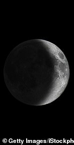 Waxing Moon (during the first half of the lunar month when the amount of light on the Moon is increasing)