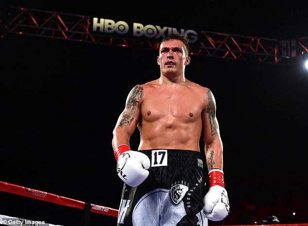 The former cruiserweight is expected to be the heaviest he's ever been ahead of a fight