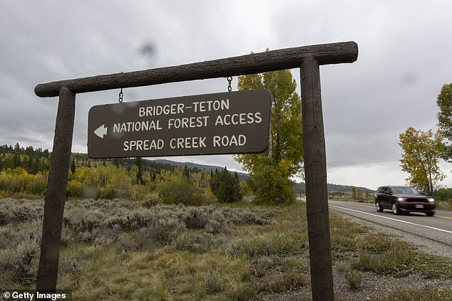 Investigators found that the remains belonged to Petito on Sunday.  The FBI said the body found in Grand Teton National Park was 'consistent with the description' of Petito, but said a full forensic identification was yet to be completed.