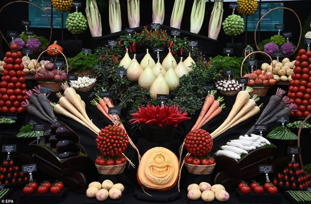 Autumn and its vegetables and fruit are the guests of honour this year, because the show usually takes place in May, but was postponed due to coronavirus