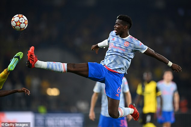 Pogba has made a brilliant start to the season but could still leave Man United for free next year