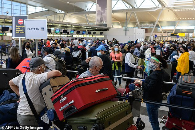Even when international travel restrictions remained in place, Americans took their vacations.  TSA conducted nearly 7 million security checks over Labor Day weekend in the US earlier this month