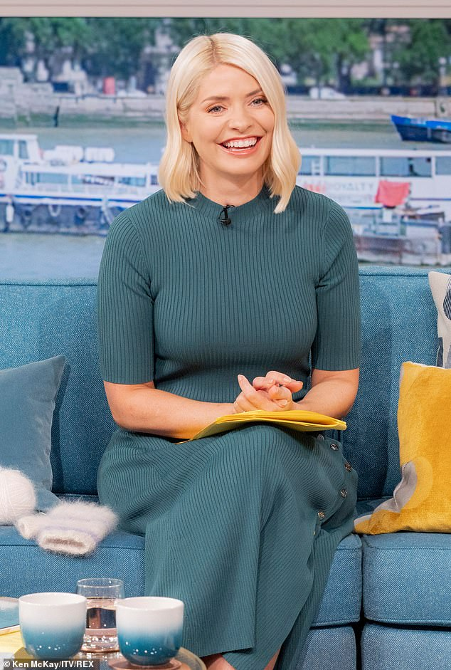 Savvy:As well as her fortune from TV presenting - the mainstay of which is a reported £600,000 a year to present ITV's flagship daytime show This Morning - the mother-of-three also rakes it in from numerous sponsorship deals with the likes of Garnier and Marks and Spencer