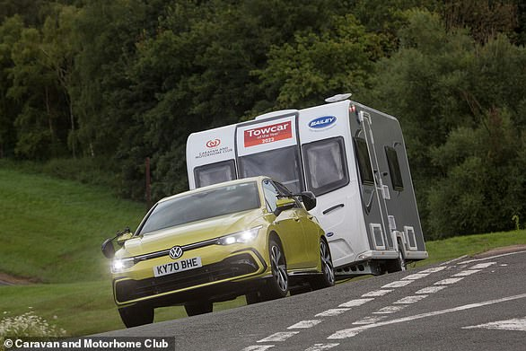 Volkswagen's latest Golf excels at the Talker of the Year Test Track, which turns out to be Millbrook Proving Ground near Bedford