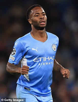 Sterling has largely fallen out of favor with Guardiola and is said to be interested in the move