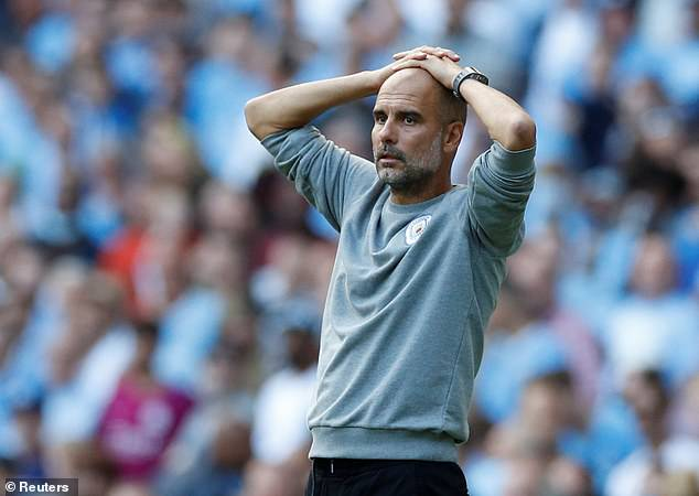 Pep Guardiola praised Sterling's movement over the weekend, but was disappointed with the scoreline
