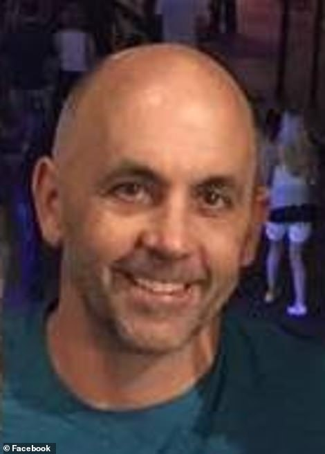 Barry learned his wife Suzanne had been having a two-year affair with one of her high school classmates, Jeff Libler (pictured), in the days before allegedly killing her