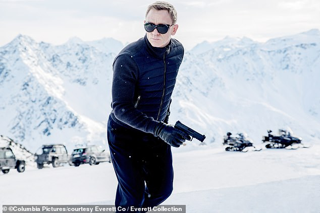 Regrets: Daniels also apologized for saying during the interview that he would rather 'slice my wrist' than reprise his role as James Bond (portrayed in character in 2015)