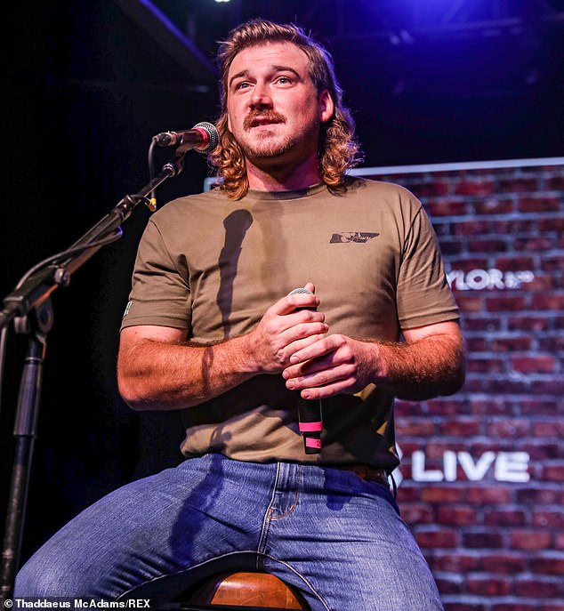 Morgan Wallen, 28, pledged half-a-million dollars to various groups in July, but he appears to have donated just $165,000 to one organization