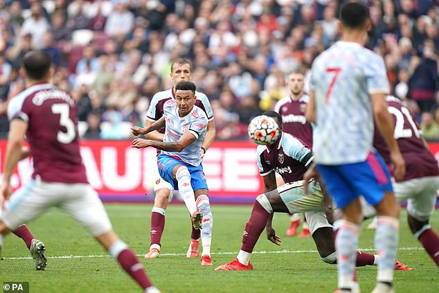 Lingard, who was brought on as a substitute, made a fine impact by picking out the top corner