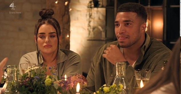 Beef:The veterinary nurse, 31, who is married to Luke Dawson, 36, has been at the centre of the E4 show's drama after she informed Amy Christophers, 34, that her husband Josh Christie, 26, had messaged her on social media in the past