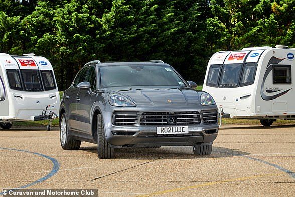 The Porsche Cayenne is not cheap, although most owners of Caravans over 1,700kg are likely to be able to buy one