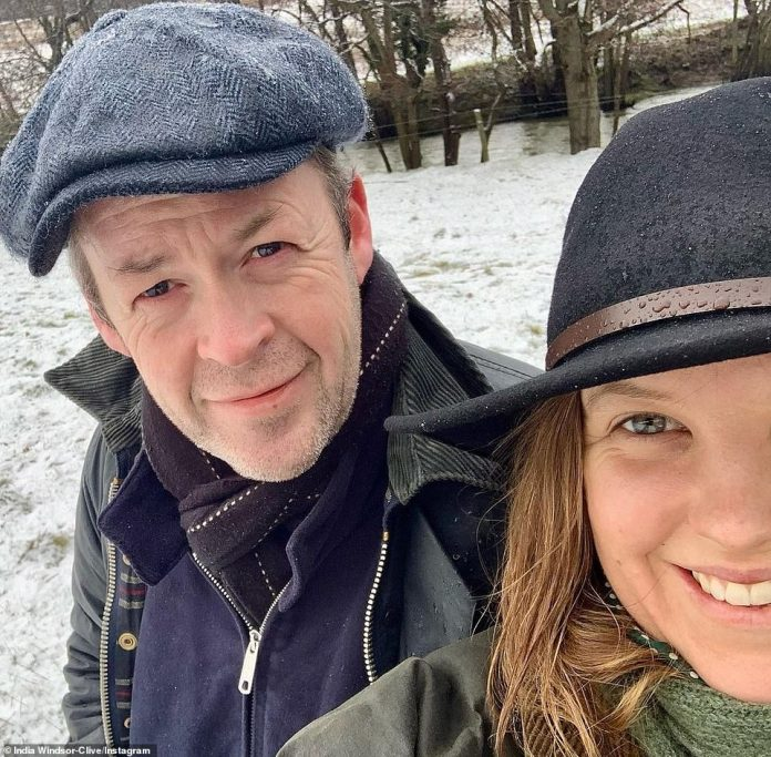 The couple (pictured) announced their engagement earlier this year in January, with Sam sharing a photo of himself and his partner.