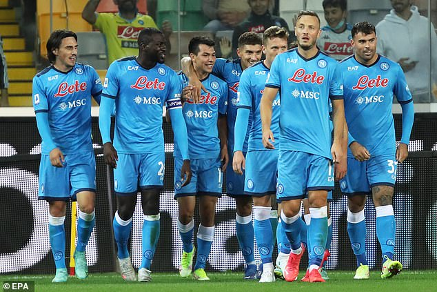 Napoli are the new Serie A pacesetters with four wins from four to start the new season