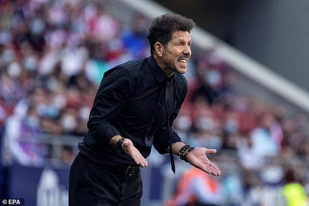 Diego Simeone is said to have rejected the move due to concerns over a fan setback