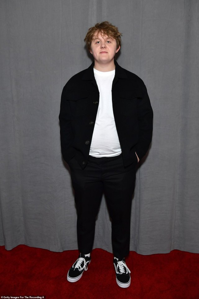 Competition: Lewis Capaldi, 24, also has two songs in the category, his 'Before You Go' and 'Someone You Loved' and Joel Corry feat. MNEK's 'Head & Heart' will also be in the running