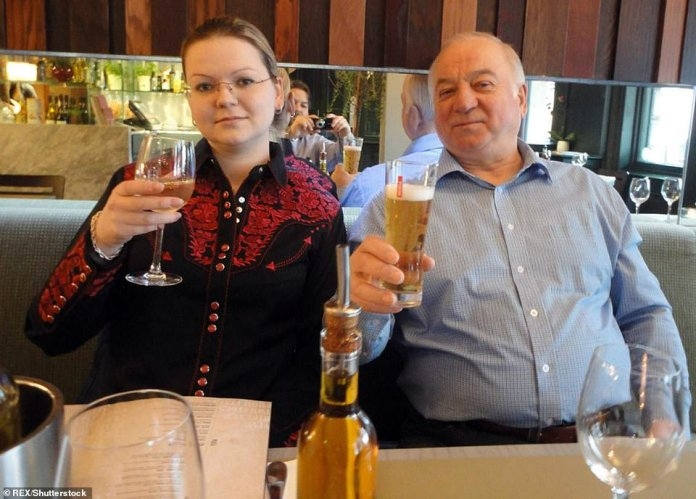 Sergei Skripal - seen with his daughter, Yulia - served as a double agent for the UK's intelligence services during the 1990s and early 2000s