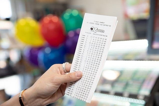 One lucky Australian has won a whopping $30million in the Oz Lotto's Jackpot