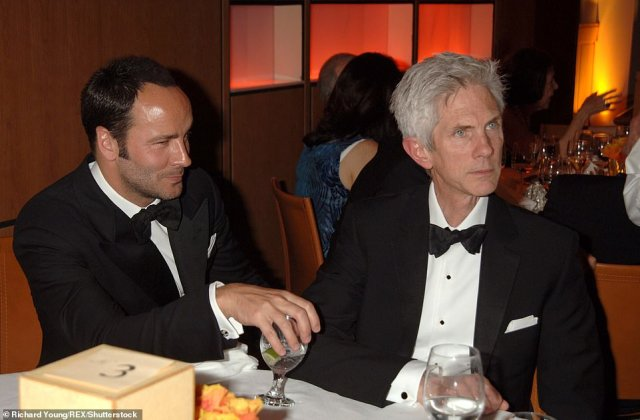 Ford and Buckley attend the Vanity Fair party at the 78th Academy Awards in Los Angeles on March 5, 2006