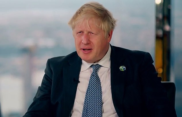 But Johnson told the Today show of China's objections: 'I think that's ridiculous. And there's no need whatsoever for anybody to construe this as adversarial towards them. This is about technology transfer'