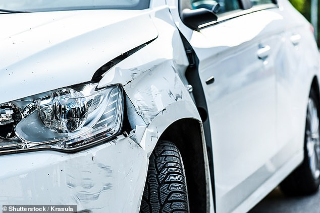 Scratching the surface: AA Insurance estimates that 14.5m of the 32.7m cars on UK roads are suffering some form of damage based on a survey of thousands of drivers.