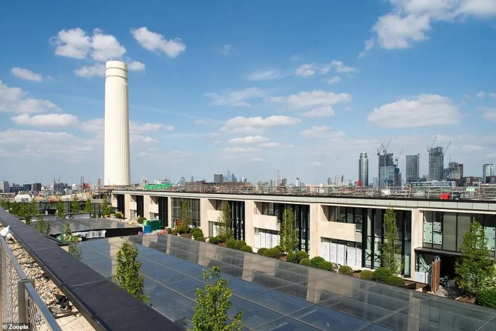 The London penthouse is highly valued and was sold through property agents Copperstones for £16 million.  being sold in