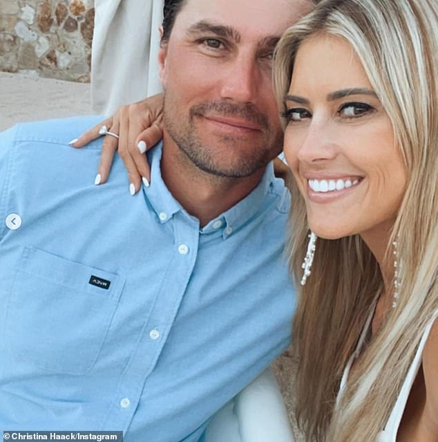 Set to wed:Christina Haack is engaged to her boyfriend Joshua Hall. The 38-year-old Flip Or Flop star shared the news on Instagram on Monday as she posted an image where she was wearing a diamond engagement ring on her wedding finger while in Mexico with her beau