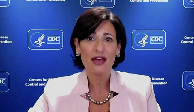 CDC director Rochelle Walensky claimed that 'evolving data' lead to mixed messages surrounding COVID-19 protocols