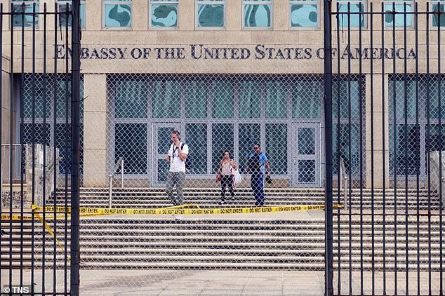 Although referred to as Anomalous Health Incidents by US government officials, the Havana Syndrome earned its colloquial name from the first reported instance of the illness in 2016 at the US embassy in Havana, Cuba (pictured)
