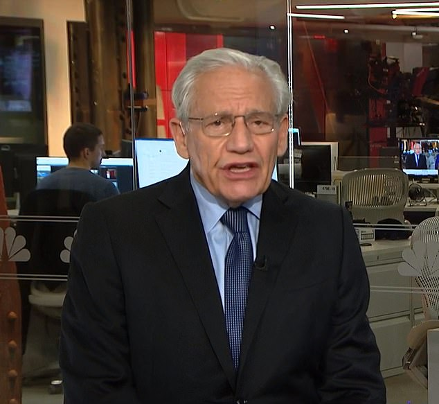 'Biden was insisting that we've got to get out now,' Woodward, associate editor at the Washington Post and author of the new tell-all 'Peril, said on MSNBC Tuesday morning