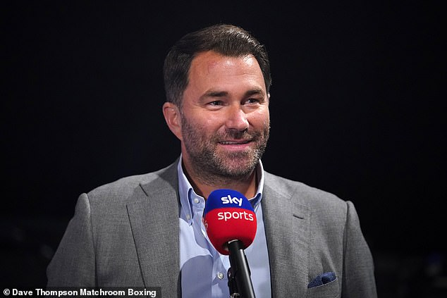 Widely renowned promoter Hearn ended Matchroom's partnership with Sky Sports this year