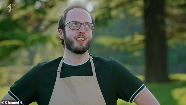Gaya!  The 12th series of Bake Off began with a new lineup of bakers moving to the iconic tent for Cake Week, with Tom becoming the first contestant to be eliminated.