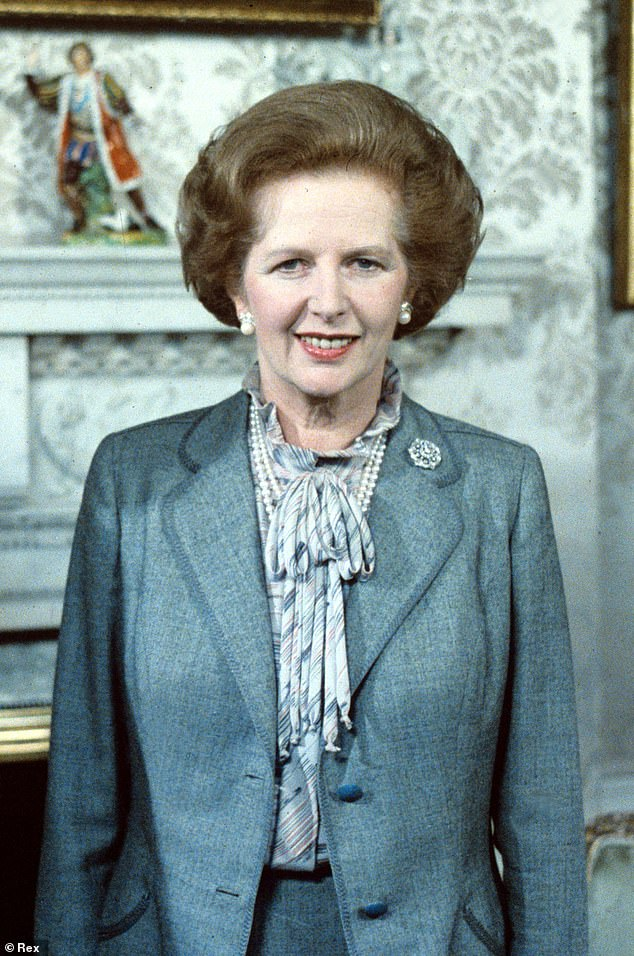 Like a chat?  The so-called Iron Lady Thatcher [pictured in 1984] was in power between 1979-1990 and died in 2013 at the age of 87, making talks between the two women impossible