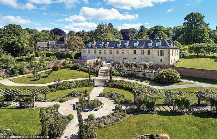 take it!  Robbie Williams has listed his 72-acre country estate for £6.75 million
