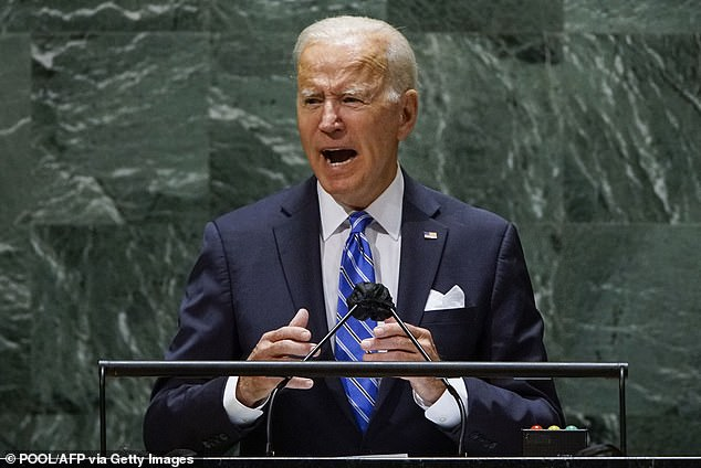 Biden stressed the importance of US alliances at the UN General Assembly on Tuesday