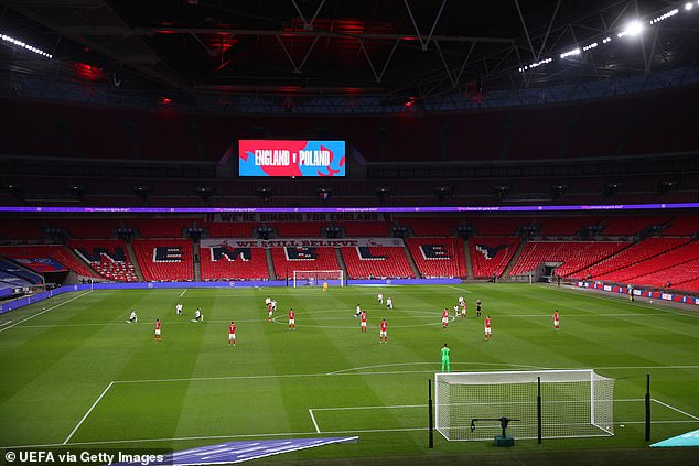 The prospect of England playing at an empty Wembley is a scenario the FA wants to avoid