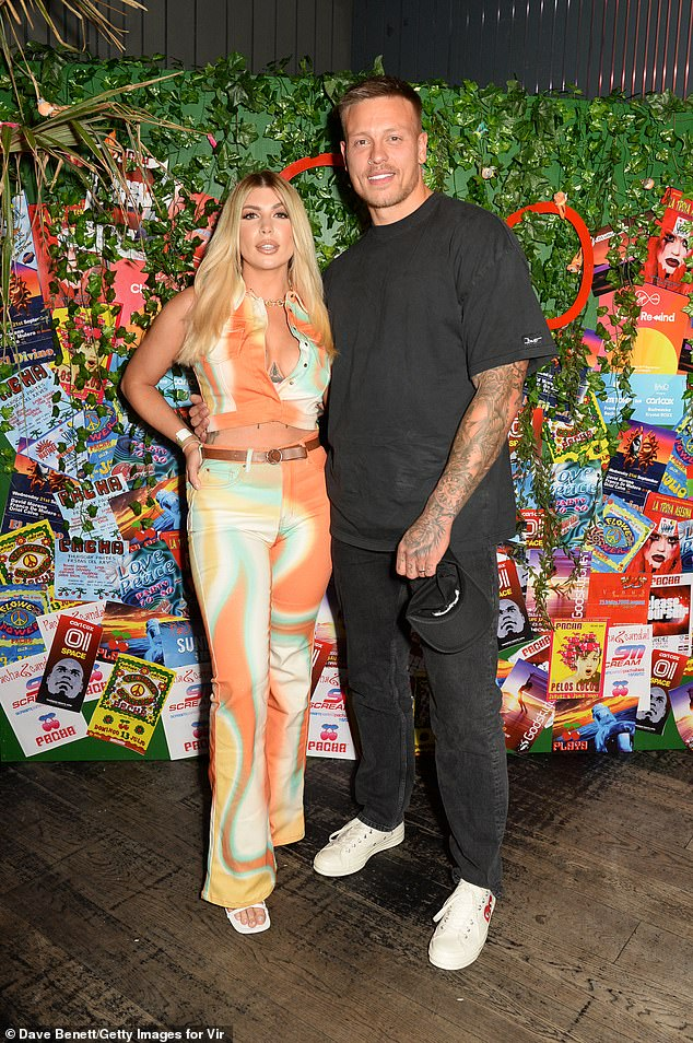 What a pair!  Olivia and Alex Bowen showed confidence with a loving performance at the Ministry of Sounds club Rewind on Wednesday
