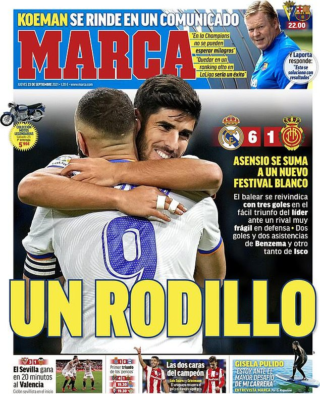 MARCA front page claims Barcelona boss has stopped communicating