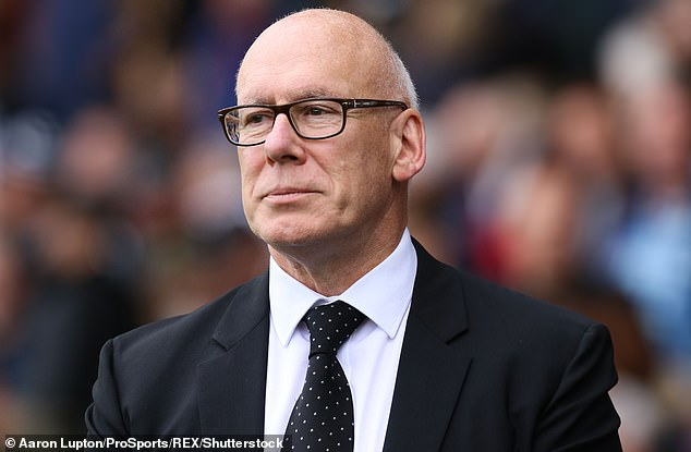 Frank Lampard has defended Derby owner Mel Morris (above) after the club's administration