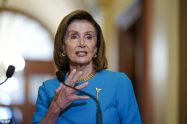 Speaker Nancy Pelosi said negotiations were in 'good shape' after her and Leader Schumer's meeting with Biden