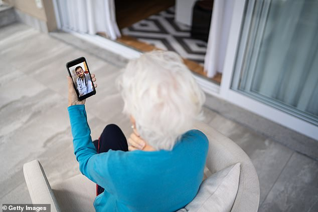 The researchers found that older patients were more likely to make telemedicine appointments over the phone, not the computer, than younger patients.