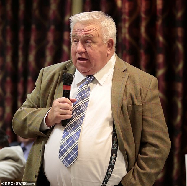 Landlord Fergus Wilson, 72, bombarded Ashford Borough Council with hundreds of messages, including tell the council leader to commit suicide