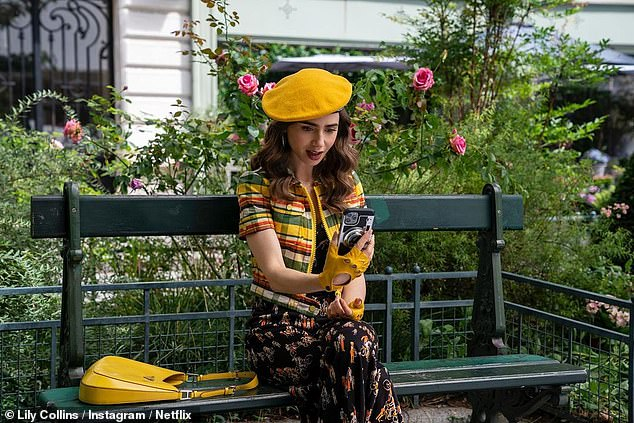 , Lily Collins shows off her French fashions in 'first look' at season two of Netflix's Emily in Paris, The Today News USA