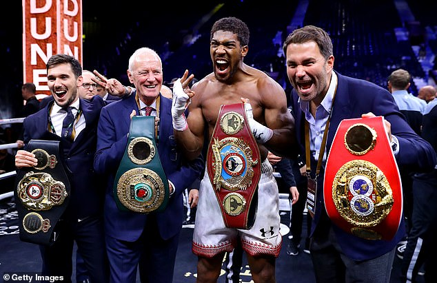 There are four world title belts per division and countless champions in most weight classes